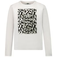 Picture of Karl Lagerfeld Z15262 kids t-shirt white