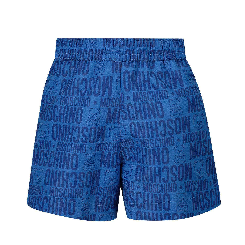 Picture of Moschino MML007 baby swimwear blue