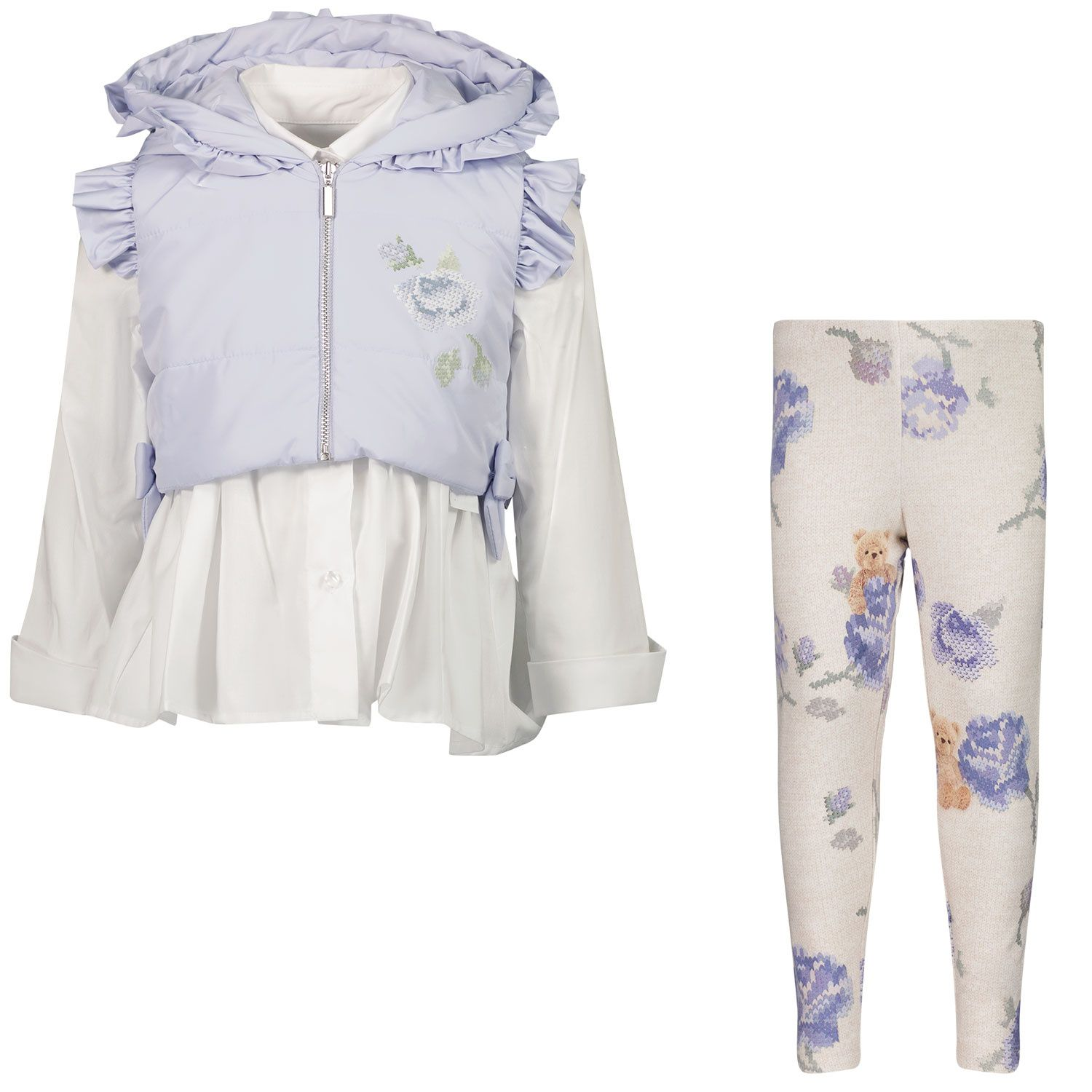Picture of Lapin 212E5454 baby set light blue