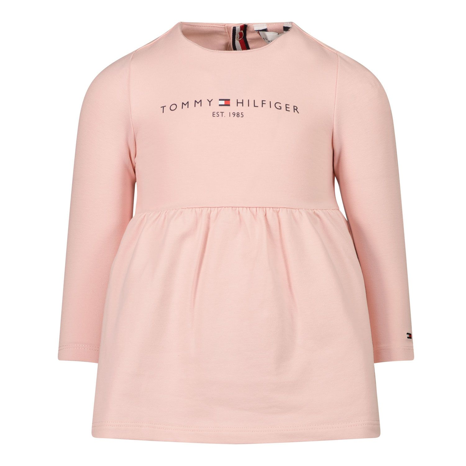 Picture of Tommy Hilfiger KN0KN01234 baby dress light pink
