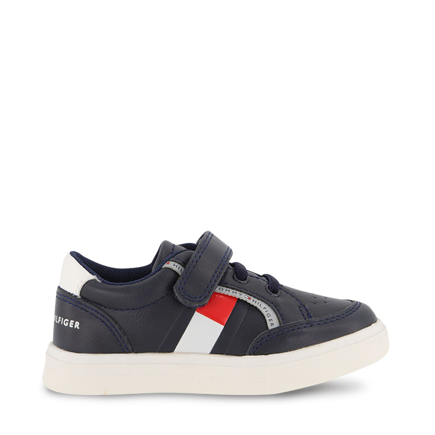 Picture of Tommy Hilfiger 32038 kids sneakers navy