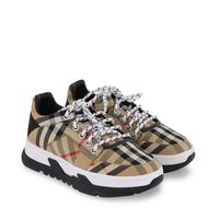 Picture of Burberry 8037068 kids sneakers beige