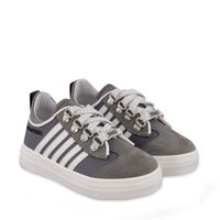 Picture of Dsquared2 65141 kids sneakers light gray