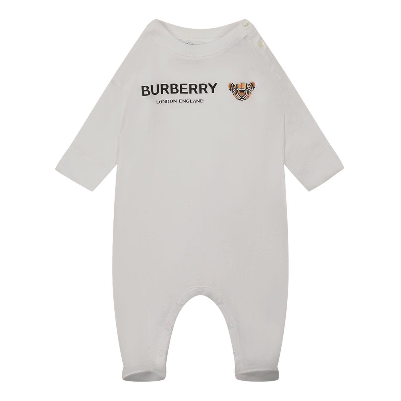 Bild von Burberry 8043076 Babystrampelanzug Weiß