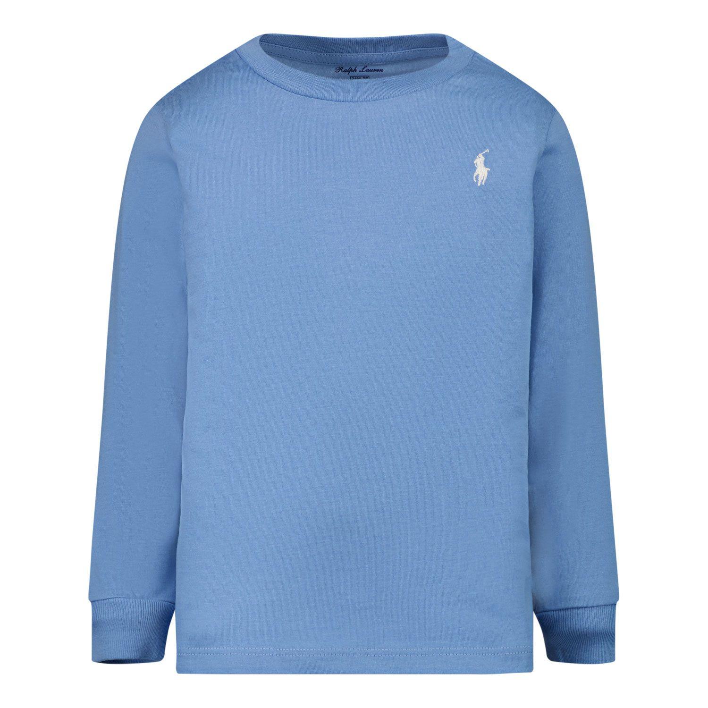 Afbeelding van Ralph Lauren 854677 baby t-shirt licht blauw