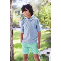 Picture of SEABASS UV SHIRT kids swimwear light blue