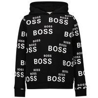 Picture of Boss J25L98 kids sweater black