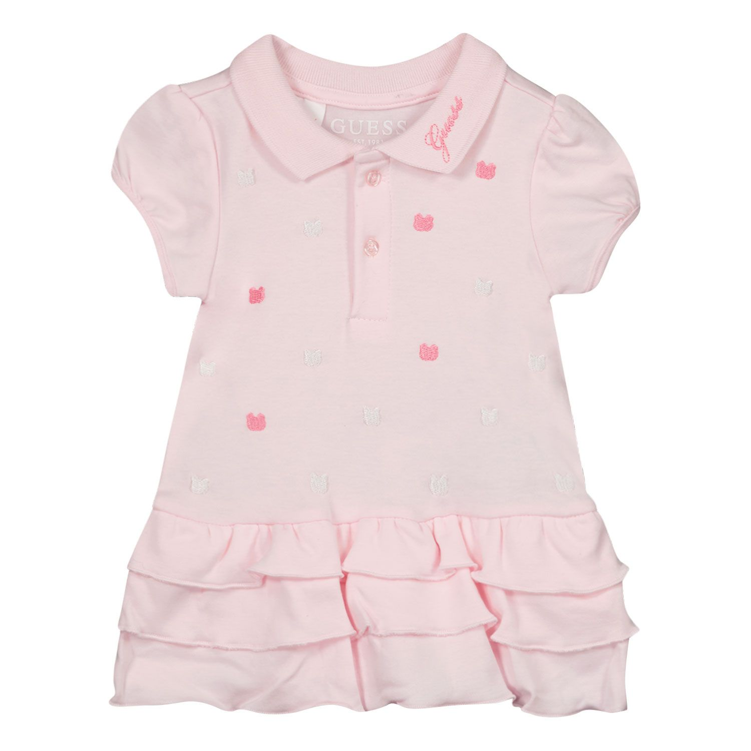 Picture of Guess S1RG09 baby dress light pink