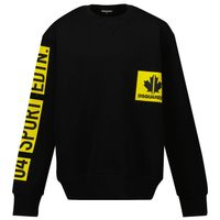Picture of Dsquared2 DQ0290 kids sweater black