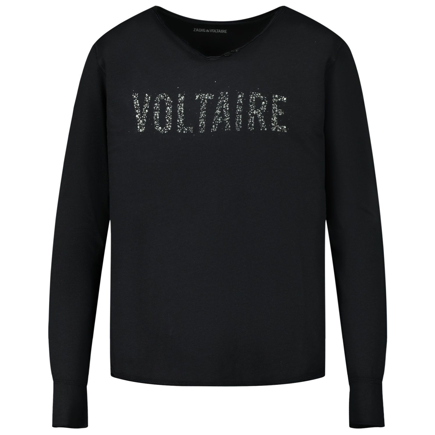 Picture of Zadig & Voltaire X15241 kids t-shirt black