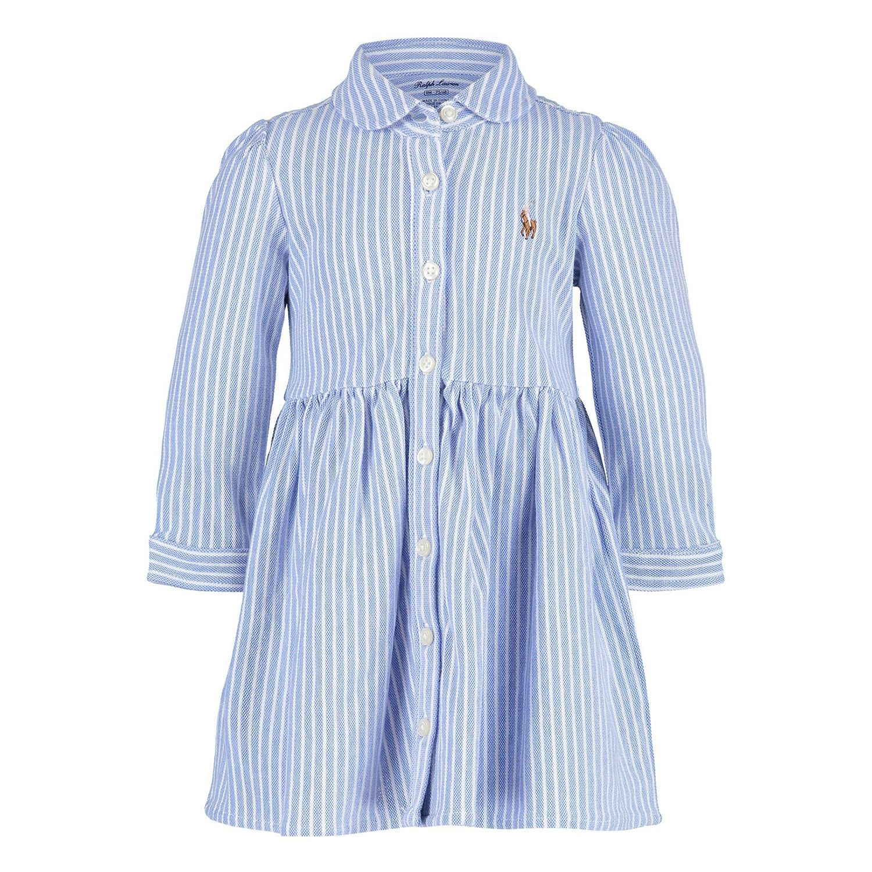 Afbeelding van Ralph Lauren 310701270 babyjurkje blauw