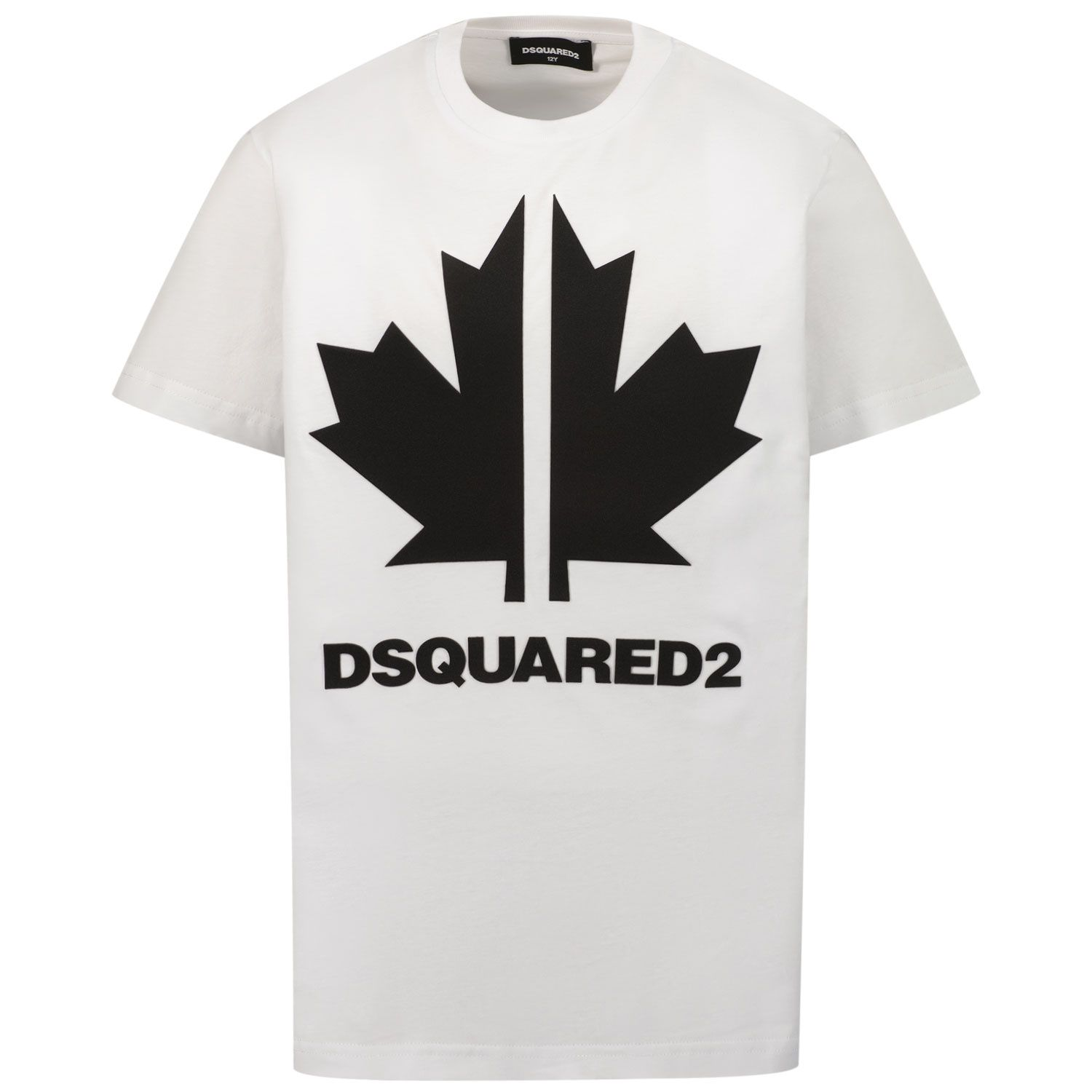 Picture of Dsquared2 DQ0295 kids t-shirt white