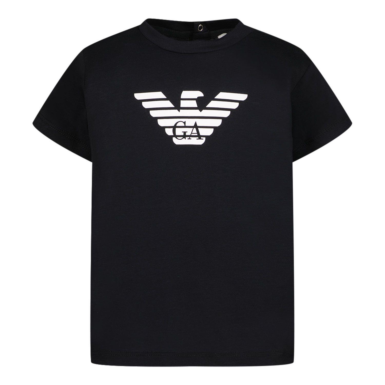 Afbeelding van Armani 8NHTN5 baby t-shirt navy