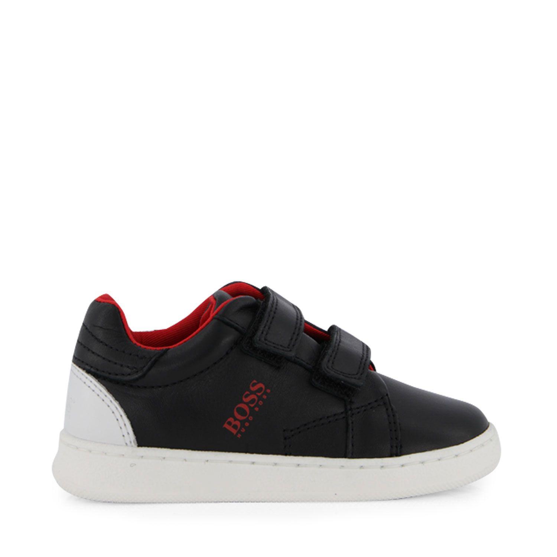 Picture of Boss J09J31 kids sneakers black