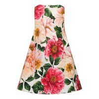 Picture of Dolce & Gabbana L2JDZ0/FSGUD kids dress pink