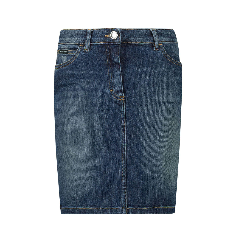 Afbeelding van Dolce & Gabbana L53I42 LD954 kinderrokje jeans