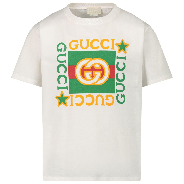 Afbeelding van Gucci 586167 XJCPU kinder t-shirt wit