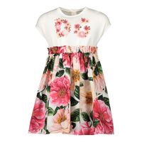 Picture of Dolce & Gabbana L2JD1R G7YFA baby dress pink