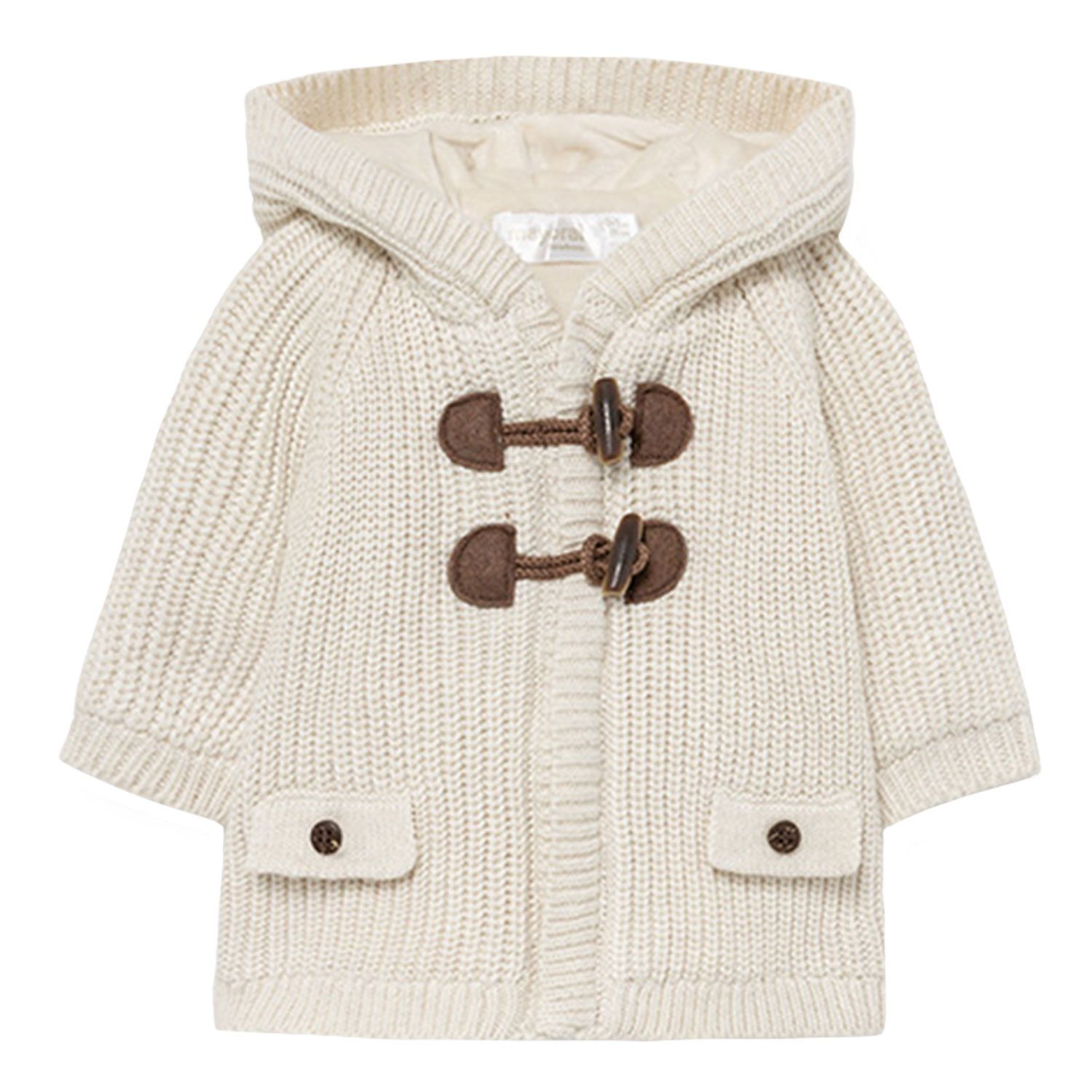 Picture of Mayoral 2367 baby vest off white