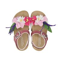 Picture of MonnaLisa 837021 kids sandals pink