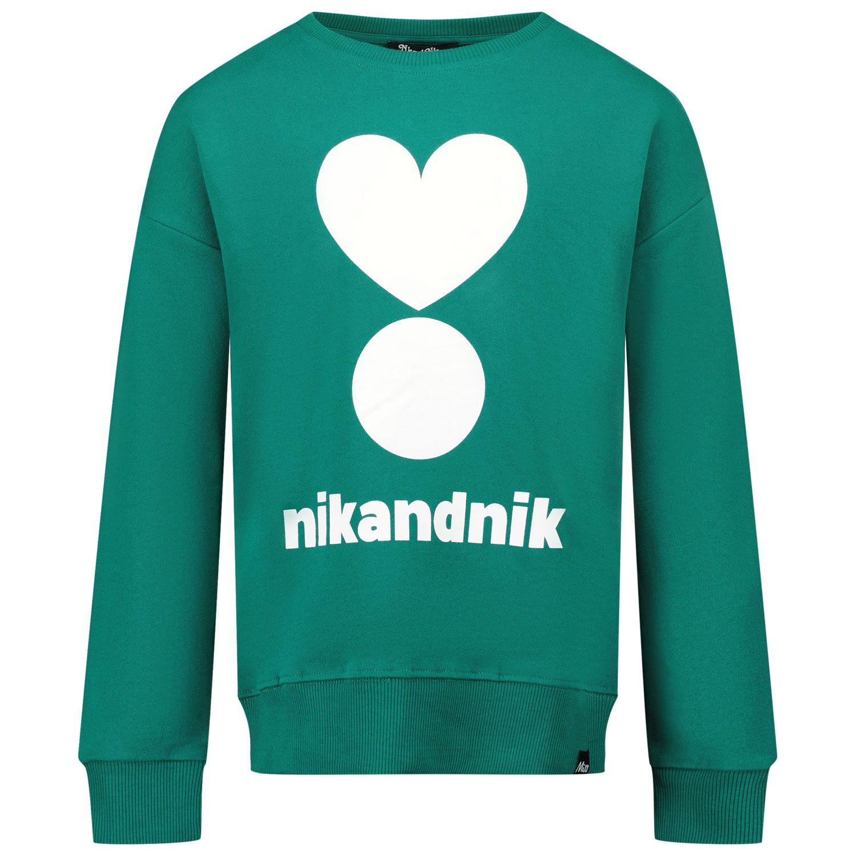 Afbeelding van NIK&NIK G8950 kindertrui donker groen