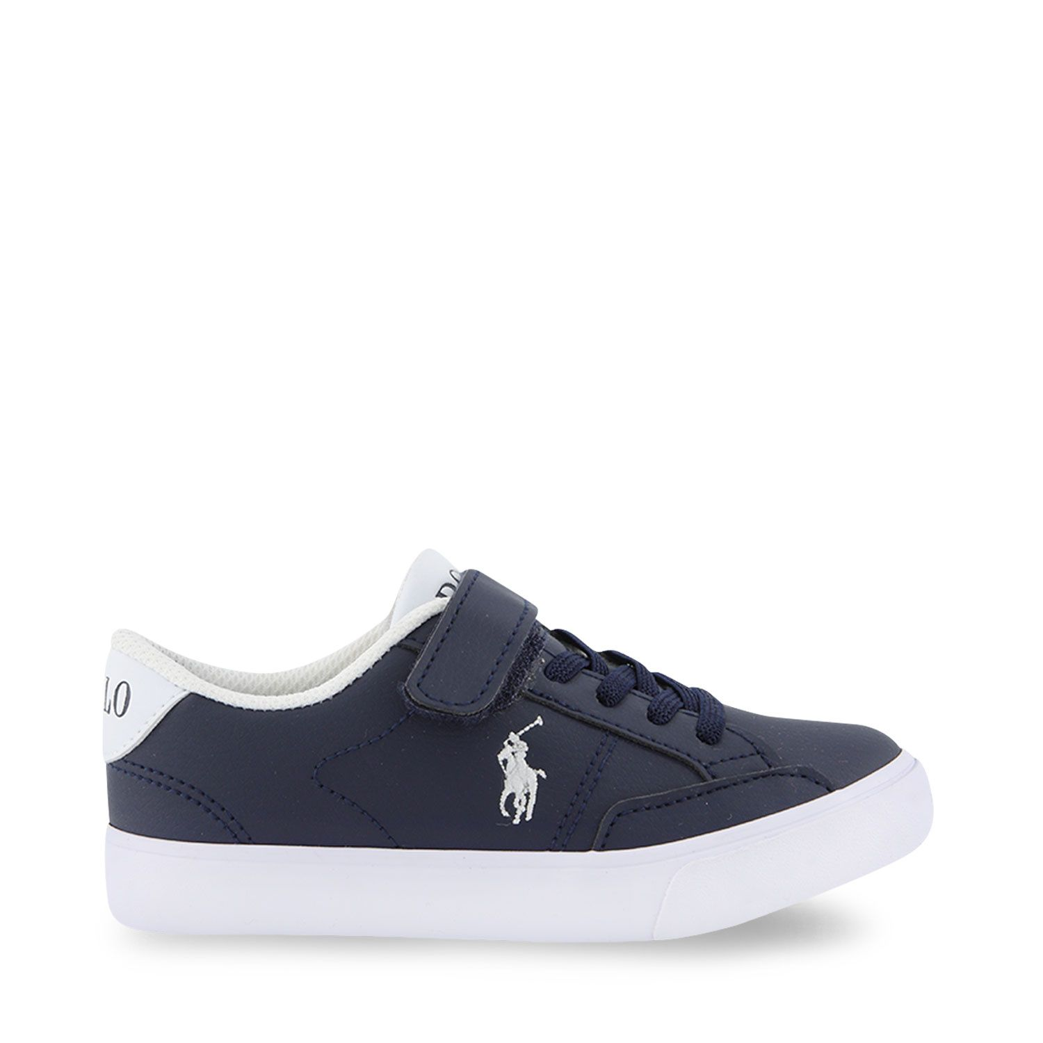 Picture of Ralph Lauren RF102984 kids sneakers navy