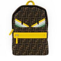 Picture of Fendi 8BZ040 AEWQ kids bag green
