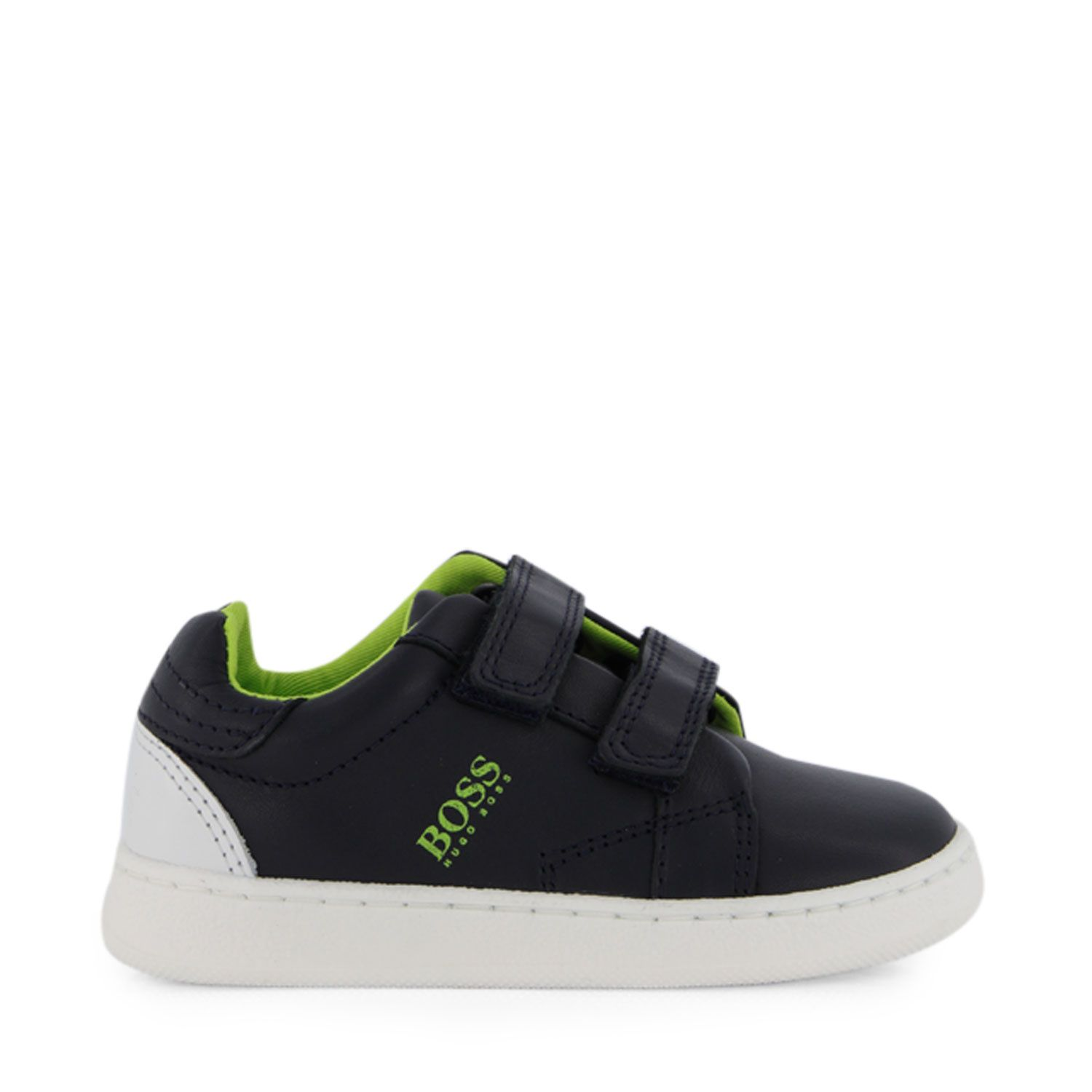 Picture of Boss J09J31 kids sneakers navy