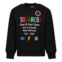 Picture of Dsquared2 DQ0563 baby sweater black
