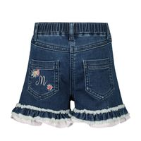 Picture of MonnaLisa 397415RE baby shorts jeans