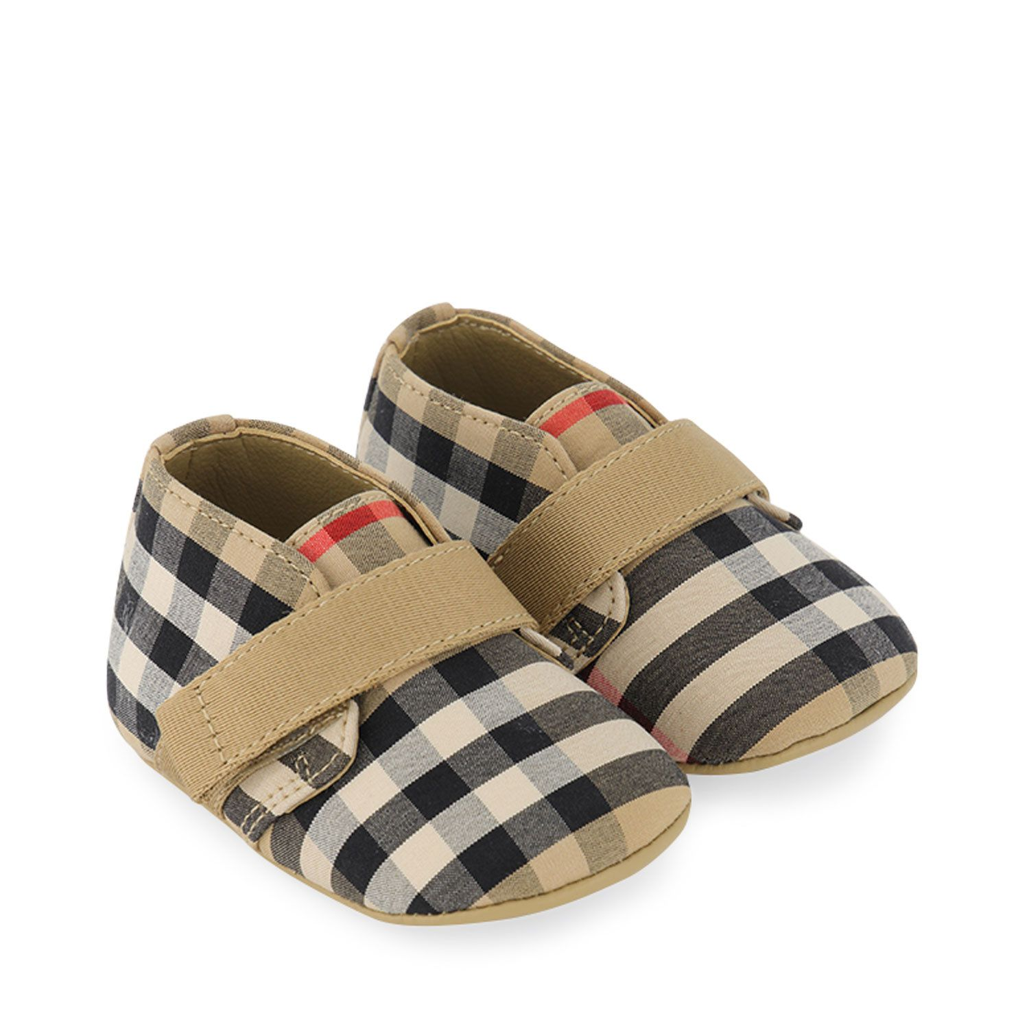 Picture of Burberry 8031077 baby shoes beige