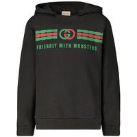 Picture of Gucci 575508 kids sweater dark gray