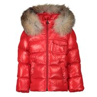 Picture of Moncler 1A52602 baby coat red