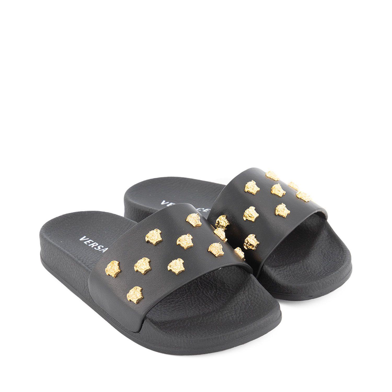 Bild von Versace 1000470 1A00138 Kinder-Flip-Flops Schwarz