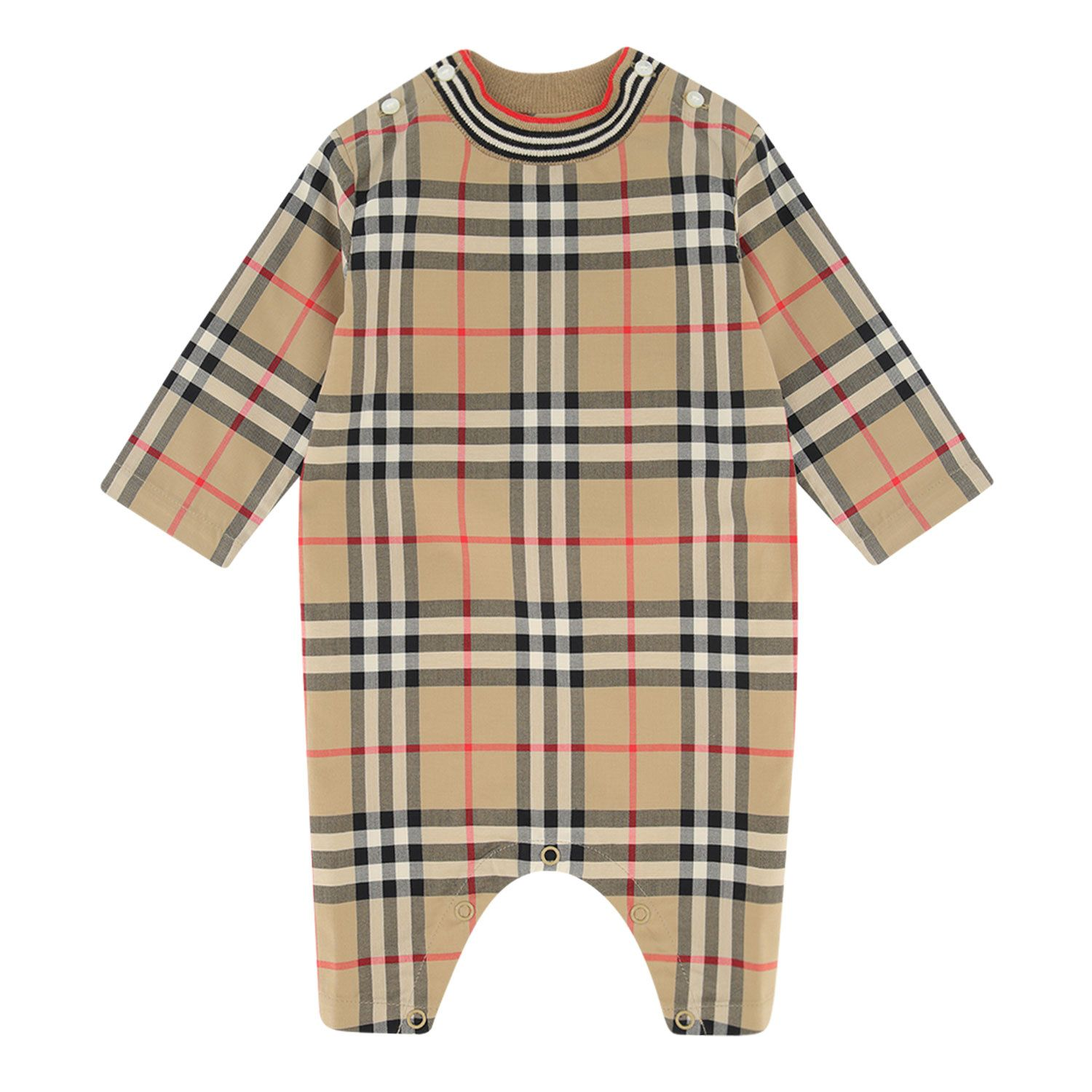 Picture of Burberry 8036579 baby playsuit beige