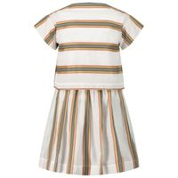 Picture of Burberry 8036489 kids dress white