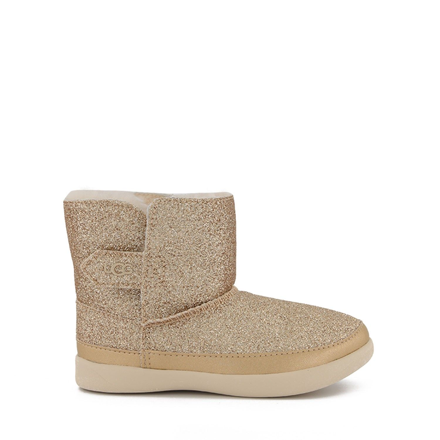 Picture of UGG 1111853T kids boots gold
