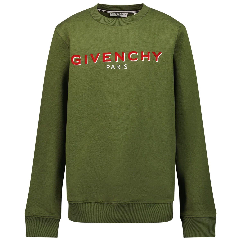 Bild von Givenchy H25273 Kinderpullover Camouflage