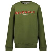 Picture of Givenchy H25273 kids sweater army