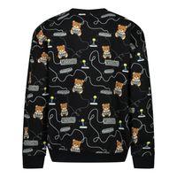 Picture of Moschino MUF03B baby sweater black