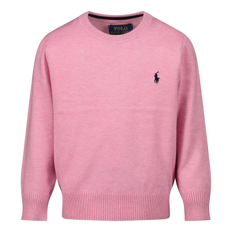 Picture of Ralph Lauren 799887 kids sweater pink