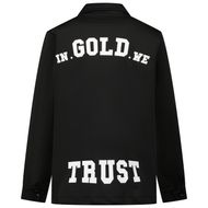 Afbeelding van in Gold We Trust SCOOBA JACKET kinderjas zwart
