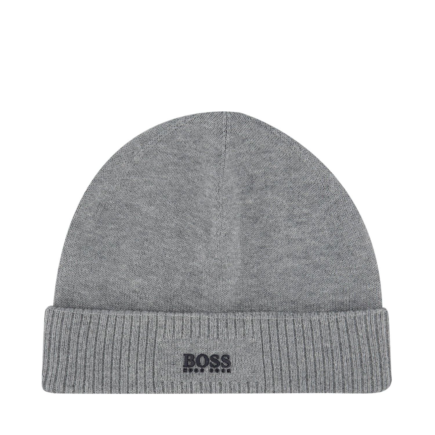 Picture of Boss J01111 baby hat grey