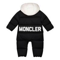 Picture of Moncler 1G52100 baby snowsuit black