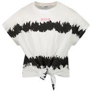 Afbeelding van MSGM MS026935 kinder t-shirt wit