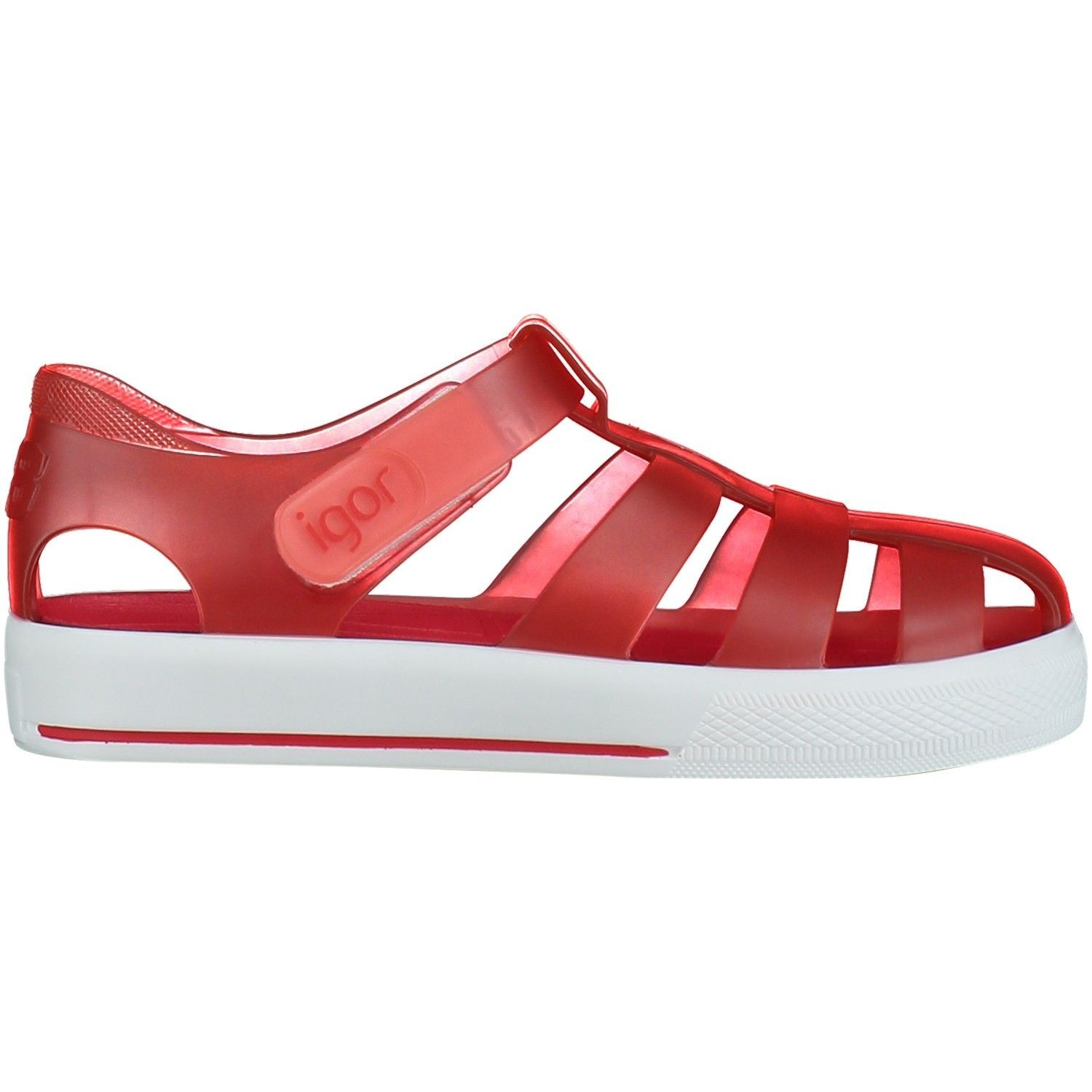Picture of Igor S10171 kids sandals red