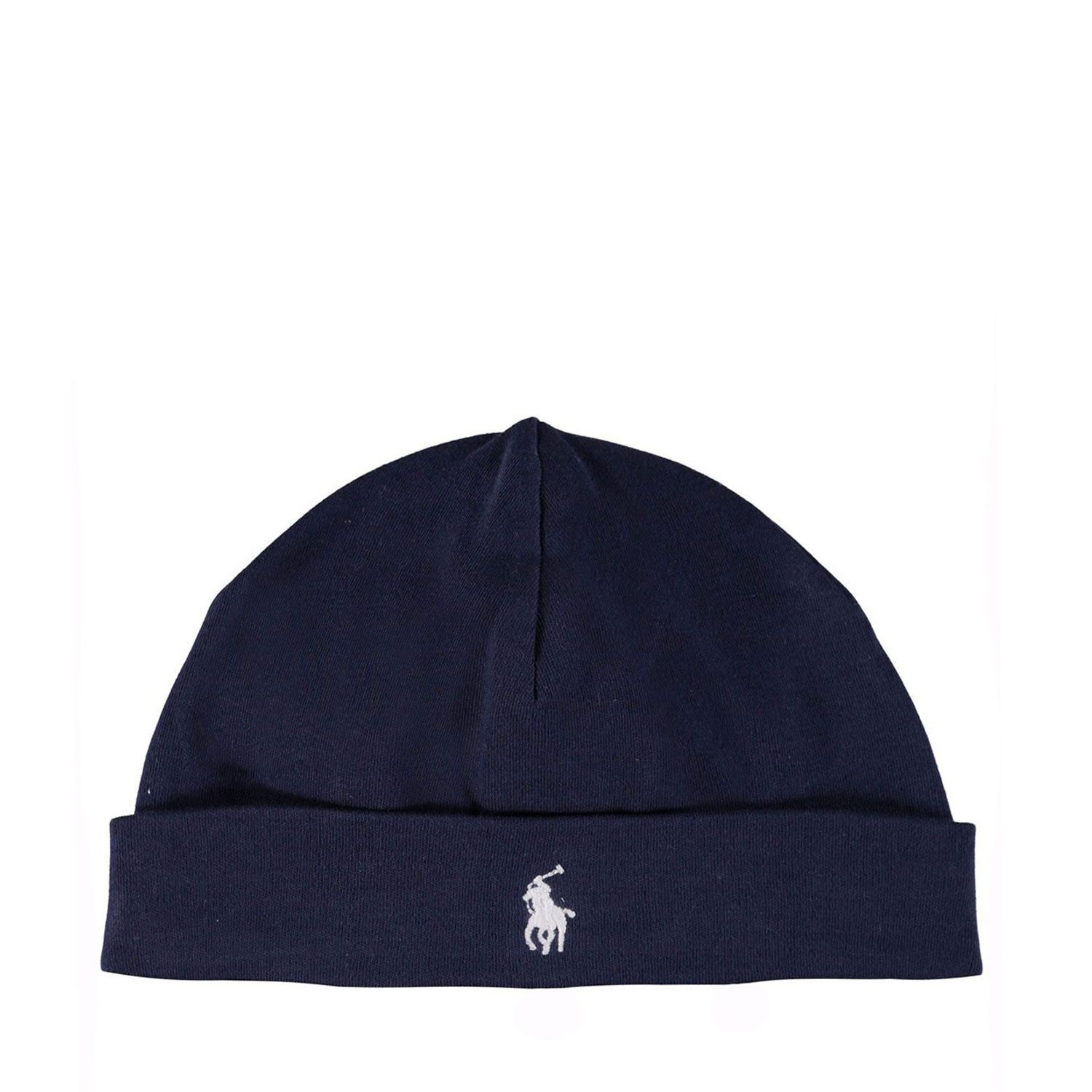 Picture of Ralph Lauren 320552454 baby hat navy
