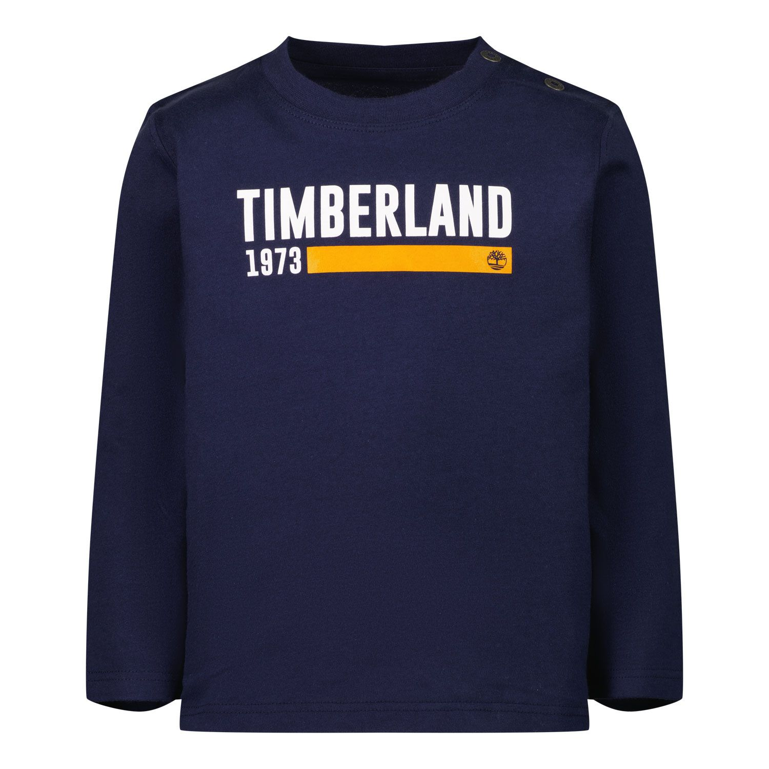 Picture of Timberland T05K17 baby shirt navy
