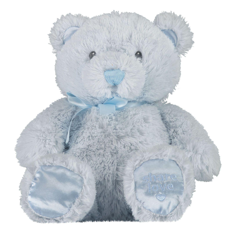 Afbeelding van Coccinelle knuffel 35 cm babyaccessoire licht blauw