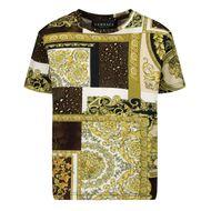 Afbeelding van Versace 1000102 1A00270 baby t-shirt goud